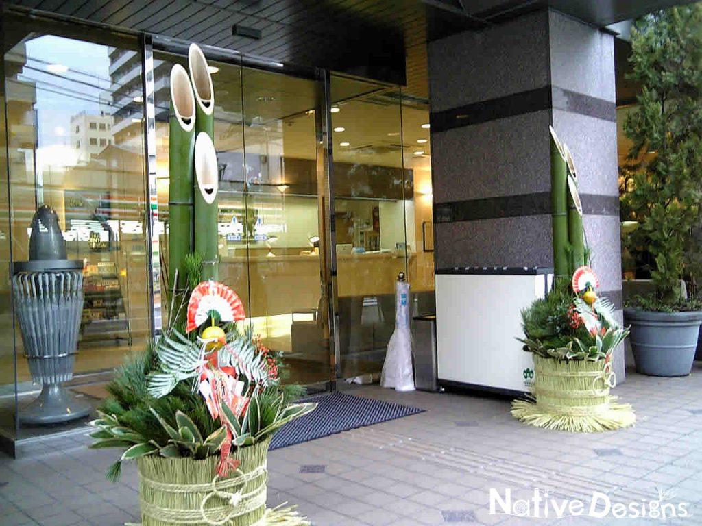 正月飾り 門松六尺